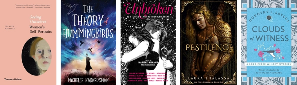 Covers of the books mentioned below in order.
